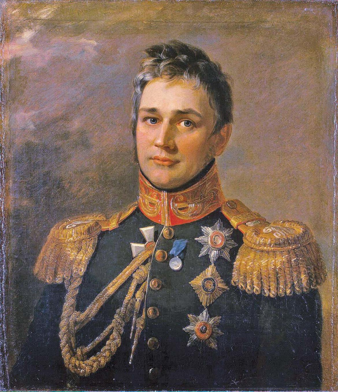 Парадный портрет М.С. Воронцова в Военной галерее героев 1812 г. в Зимнем дворце Санкт-Петербурга